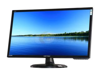 "Hanns G HL272HPB Black 27"" 2ms HDMI Widescreen LED Backlight LCD Monitor 300 cd/m2 Active Contrast 30,000,000:1 (1000:1) Built in Speakers"