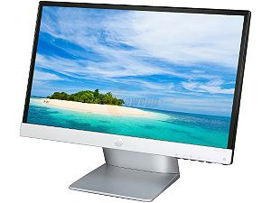 "HP Pavilion 22xi Black / Silver 21.5"" 7ms HDMI Widescreen LED Backlight LCD Monitor, IPS Panel 250 cd/m2 10,000,000:1"