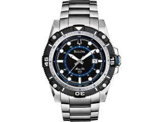 Men's Bulova Marine Star Steel Sport Watch 98B177