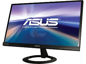"ASUS VX229H Black 21.5"" 5ms (GTG) HDMI Widescreen LED Backlight LCD Monitor AH IPS 250 cd/m2 80,000,000:1 Built in Speakers"