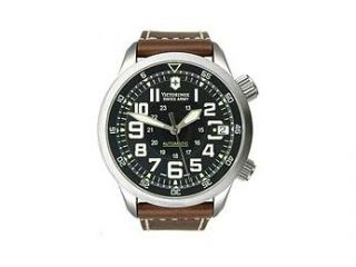 Victorinox Swiss Army Airboss Mach 7 Automatic Black Dial Men's Watch #241378