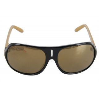 Spy Stratos II Sunglasses Black/Gold Mirror Lens
