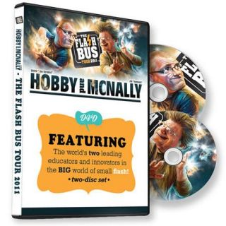 DVD Flash Bus Tour 2011   Two Disc Set, By Joe McNally & David Hobby DVDFBT2011