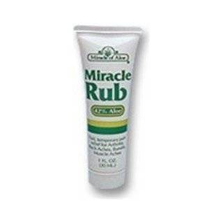 Miracle Rub Pain Relieving Cream (3.5 oz) Health